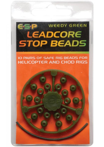 ESP Leadcore Stop Beads, Rig Bits, ESP, Bankside Tackle