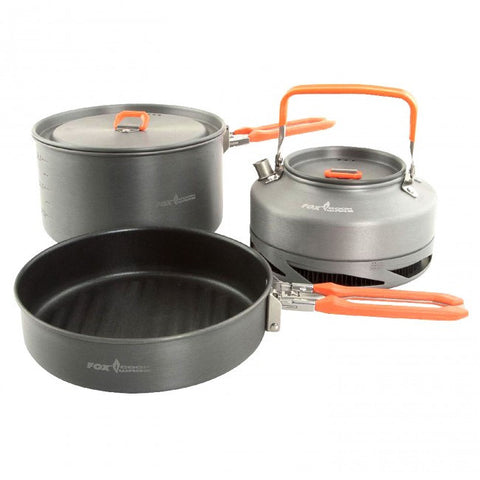 Fox Cookware Medium 3pc Set, Stoves & Cooking, Fox, Bankside Tackle
