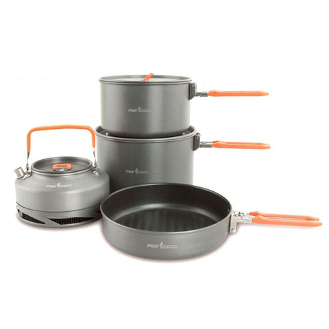 Fox Cookware Large 4 Piece Set, Stoves & Cooking, Fox, Bankside Tackle