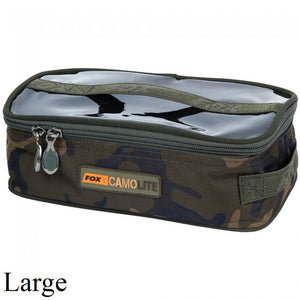 Fox Camolite Accessory Bag Large, Lead/Tackle Boxes & Pouches, Fox, Bankside Tackle