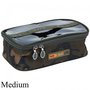 Fox Camolite Accessory Bag Medium, Lead/Tackle Boxes & Pouches, Fox, Bankside Tackle