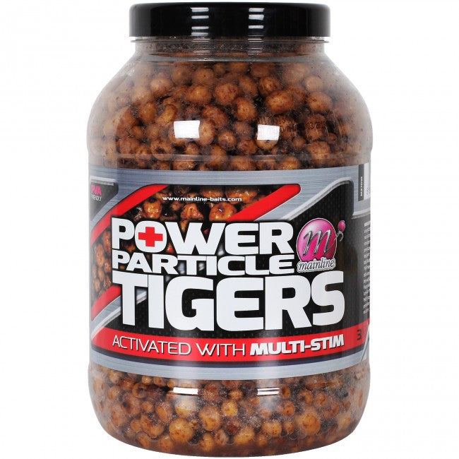 Mainline Power Particle Tiger Nuts, Particles, Mainline Baits, Bankside Tackle