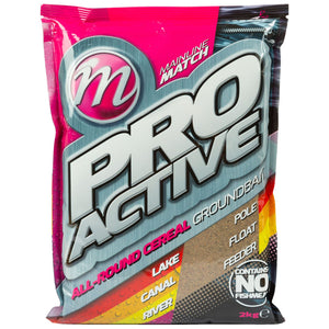 Mainline Match Pro-Active Groundbait 2kg