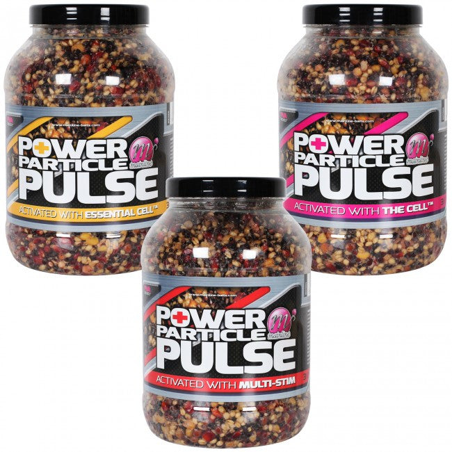 Mainline Power Particle Pulse, Particles, Mainline Baits, Bankside Tackle