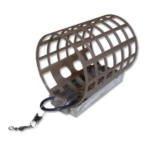 Nisa Plastic Open Ended Cage Feeders, Leads & Feeders, Nisa, Bankside Tackle