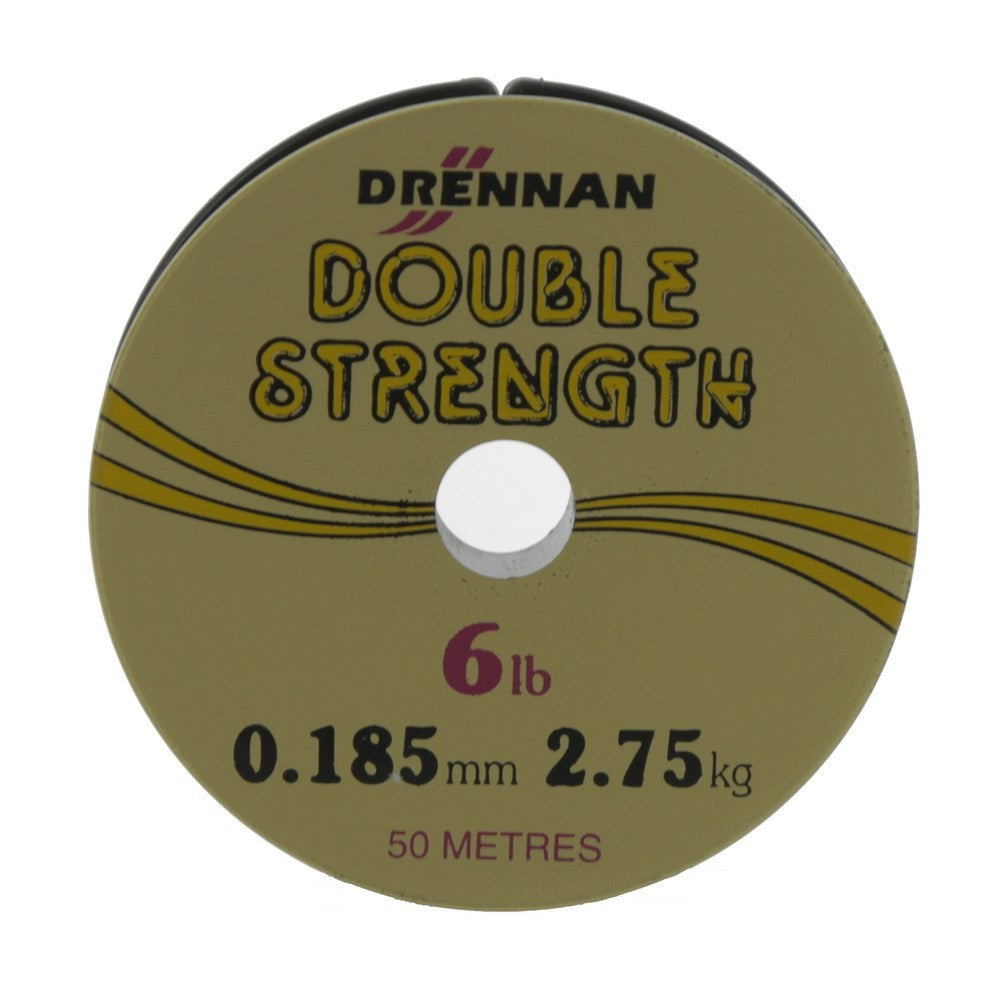 Drennan Double Strength 50m Spool, Zigs & Floaters, Drennan, Bankside Tackle