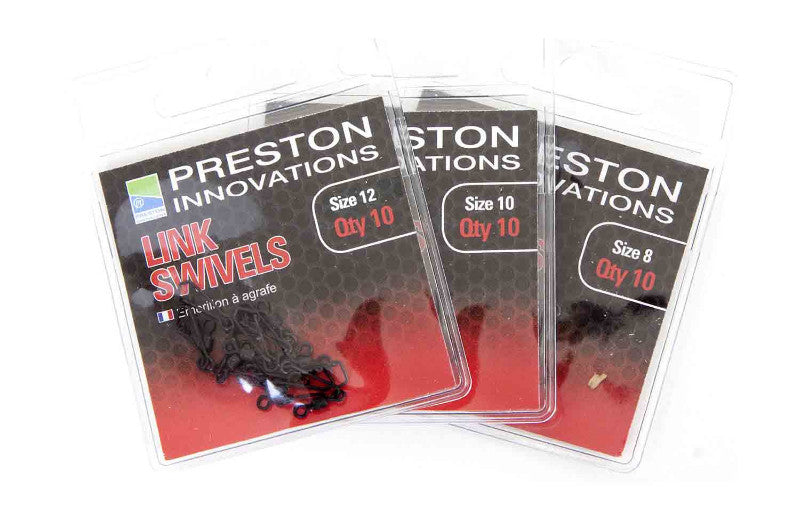 Preston Innovations Link Swivels, Coarse Accessories, Preston Innovations, Bankside Tackle