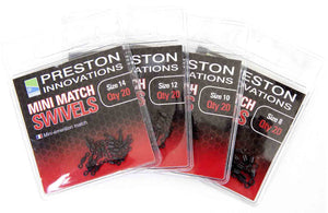 Preston Innovations Mini Match Swivels, Coarse Accessories, Preston Innovations, Bankside Tackle