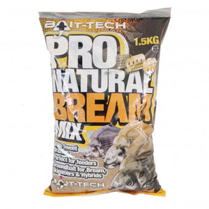 Bait Tech Pro Natural Bream, Groundbaits, Bait-Tech, Bankside Tackle