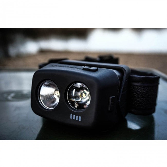 RidgeMonkey VRH300 USB Rechargeable Headtorch, Bivvy Accessories, Ridgemonkey, Bankside Tackle