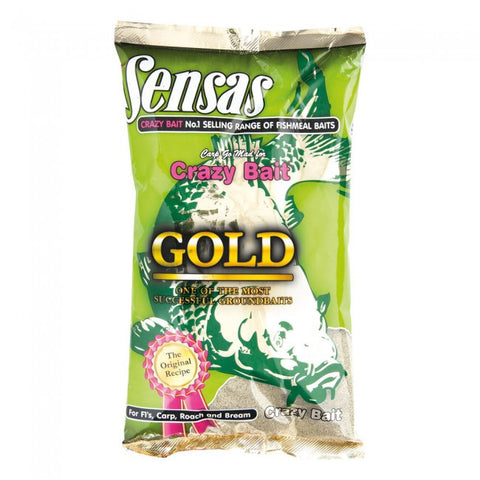 Sensas Crazy Bait Gold, Groundbaits, Sensas, Bankside Tackle
