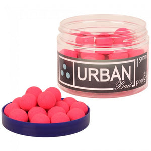 Urban Baits Nutcracker 15mm Pink Pop-Ups, Hookbaits, Urban Bait, Bankside Tackle