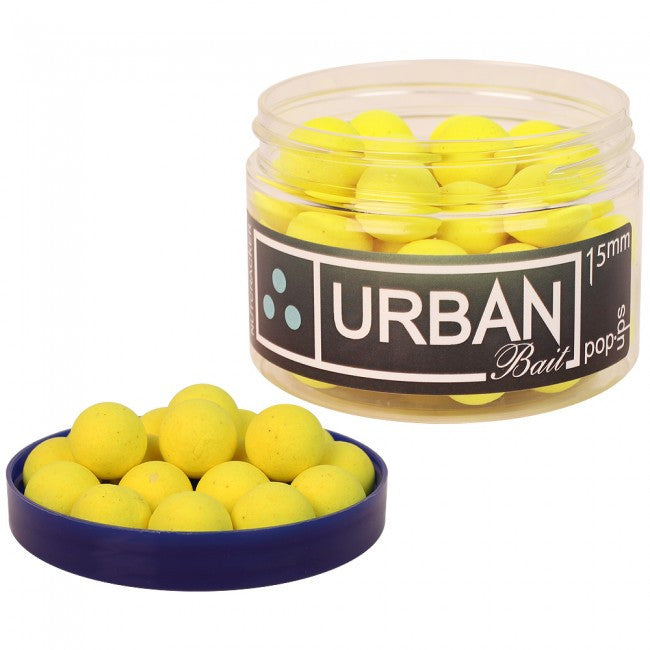 Urban Baits Nutcracker Yellow Pop Ups, Hookbaits, Urban Bait, Bankside Tackle