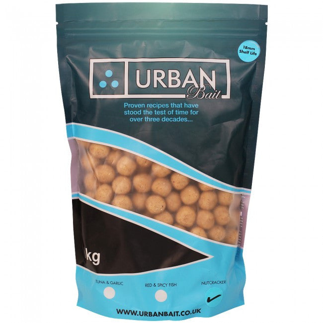 Urban Baits Nutcracker Shelflife Boilies 18mm 1kg
