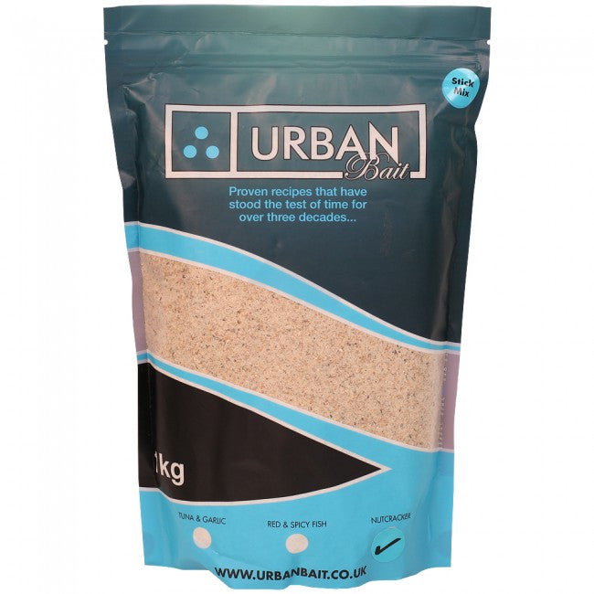 Urban Baits Nutcracker Stick Mix 1kg, Groundbaits, Urban Bait, Bankside Tackle