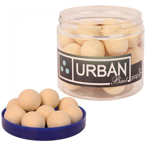 Urban Baits Nutcracker Washed Out White Pop Ups, Hookbaits, Urban Bait, Bankside Tackle