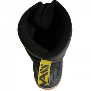 Vass Fleece Lined Boot With Quick Release Velcro Strap