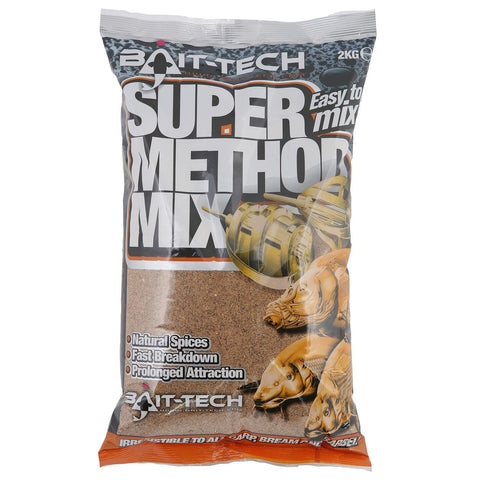 Bait Tech Super Method Mix 2kg, Groundbaits, Bait-Tech, Bankside Tackle
