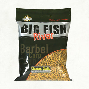 Dynamite Baits Big Fish River Cheese & Garlic Pellets