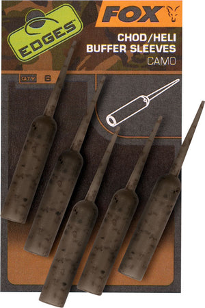 Fox Edges Camo Naked Chod/Heli Buffer Sleeves