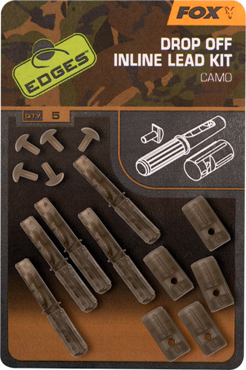 Fox Edges Camo Inline Lead Drop Off Kits