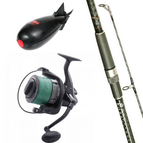 Free Spirit 13ft CTX Spomb/Marker Rod Combo with Wychwood Spod Reel Plus Midi Spomb, Rod & Reel Combos, Free Spirit, Bankside Tackle