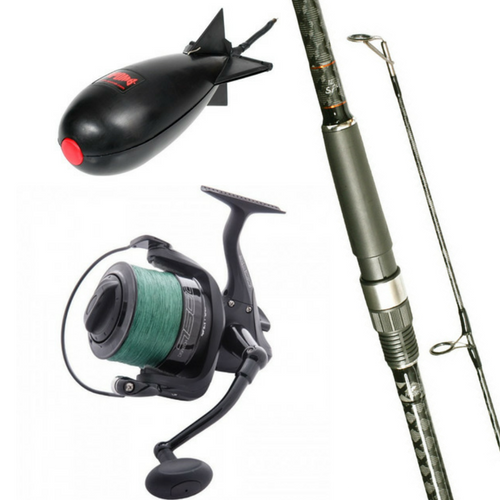 Free Spirit 12ft CTX Spomb/Marker Rod Combo with Wychwood Spod Reel plus Midi Spomb