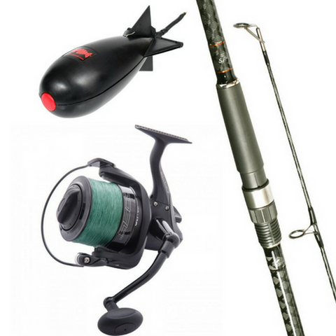 Free Spirit 12ft CTX Spomb/Marker Rod Combo with Wychwood Spod Reel plus Midi Spomb, Rod & Reel Combos, Free Spirit, Bankside Tackle
