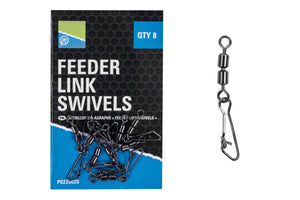 Preston Double Feeder Link Swivels