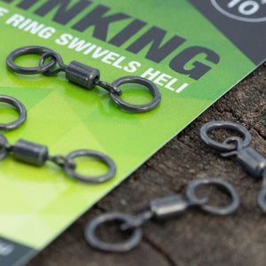 Thinking Anglers PTFE Double Ring Swivels Heli