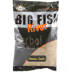 Dynamite Baits Big Fish River Cheese & Garlic Groundbait
