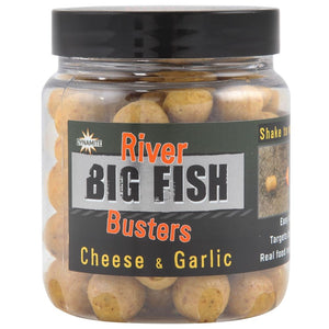 Dynamite Baits Big Fish River Cheese & Garlic Buster Hookbaits