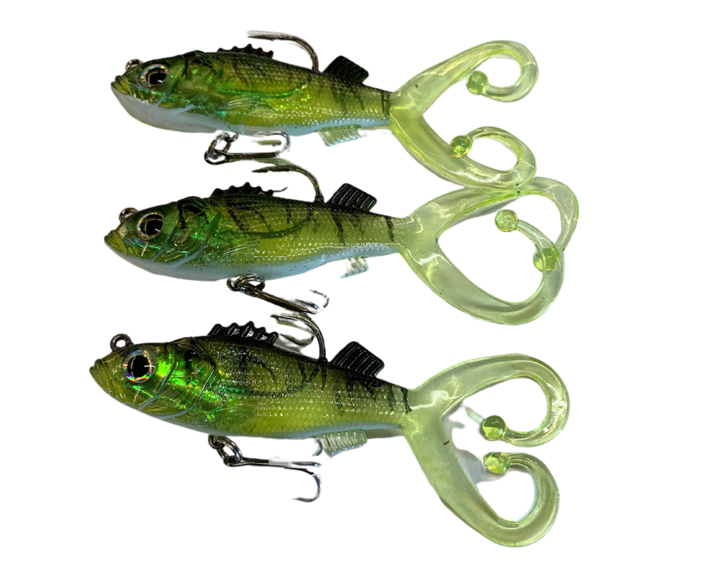 CJT For Real Lures 3pk