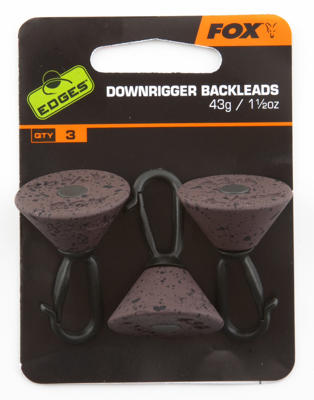 Fox Edges Downrigger Backleads, Leads, Fox, Bankside Tackle