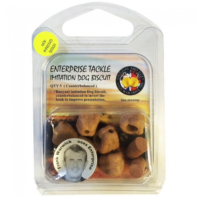 Enterprise Tackle Imitation Dog Biscuit, Artificial Baits, Enterprise Tackle, Bankside Tackle