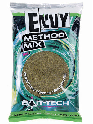 Bait Tech Envy Method Mix 2kg, Groundbaits, Bait-Tech, Bankside Tackle