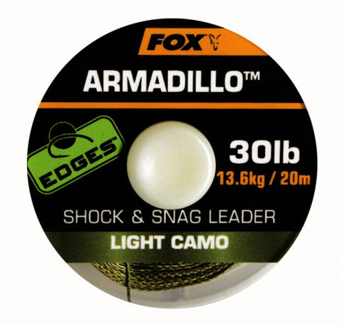 Fox Edges Armadillo, Leadcore, Leaders & Tubing, Fox, Bankside Tackle