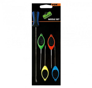 Fox Edges Needle Set, Rig Tools, Fox, Bankside Tackle