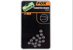 Fox Edges Tungsten Beads 5mm, Rig Bits, Fox, Bankside Tackle