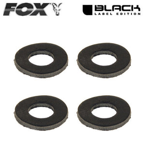 Fox Black Label Leather Washers, Bite Alarm Accessories, Fox, Bankside Tackle