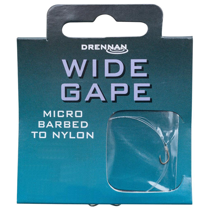 Drennan Wide Gape Hooks To Nylon