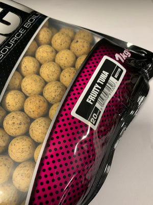 Mainline Baits Hi Impact Shelf Life Boilies Fruity Tuna