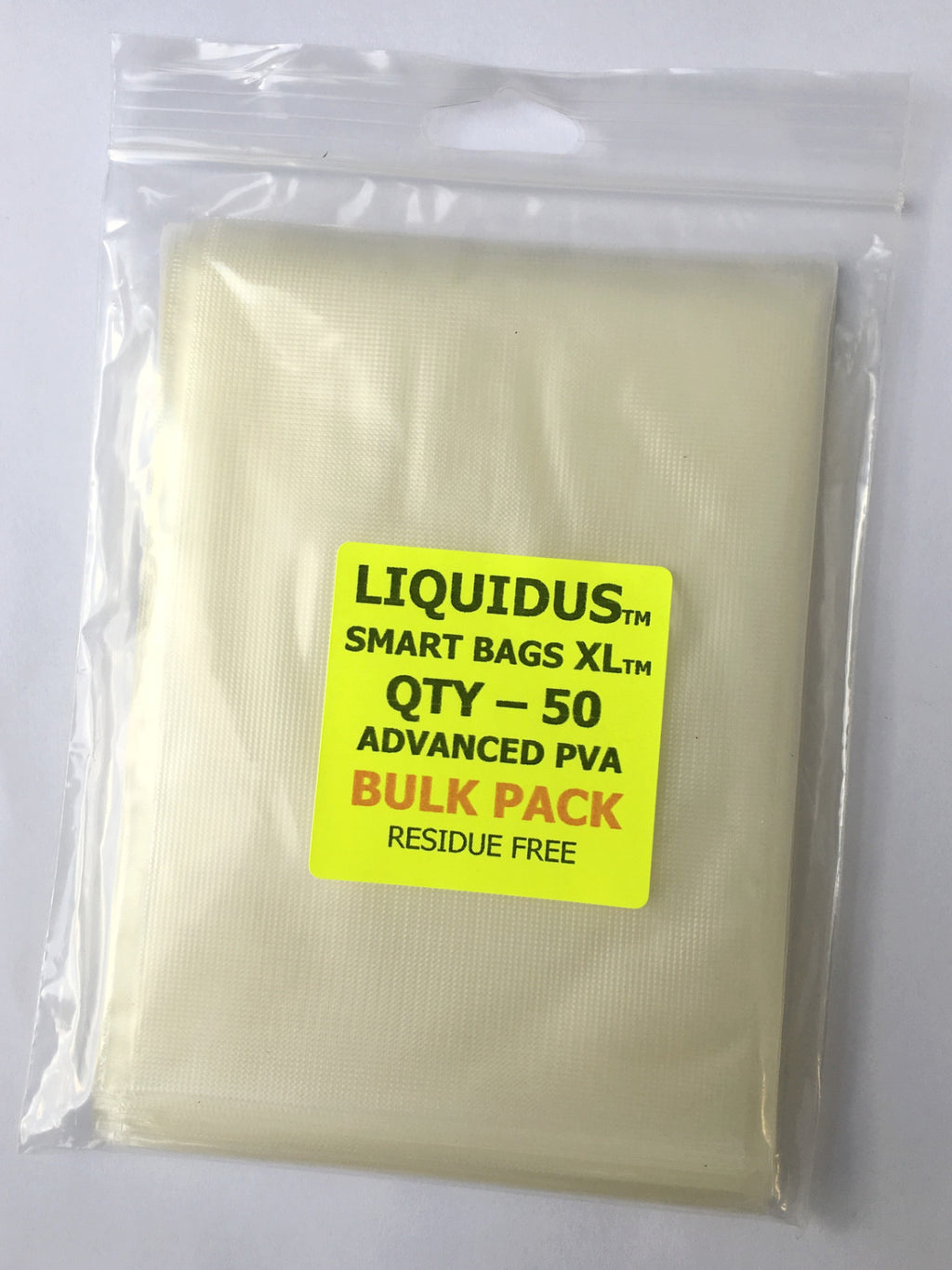 CJT Liquidus XL PVA Smart Bags 50pk, PVA, CJT Developments, Bankside Tackle