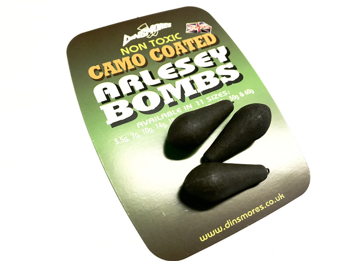 Dinsmore Camo Coated Arlesey Bombs