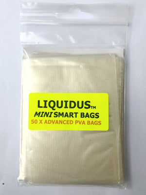 CJT Liquidus Mini PVA Smart Bags 50pk, PVA, CJT Developments, Bankside Tackle