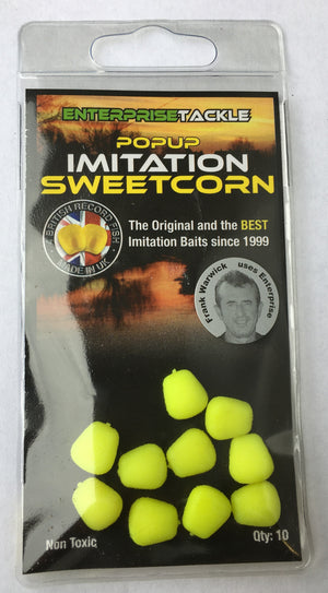 Enterprise Tackle Pop Up Sweetcorn, Artificial Baits, Enterprise Tackle, Bankside Tackle