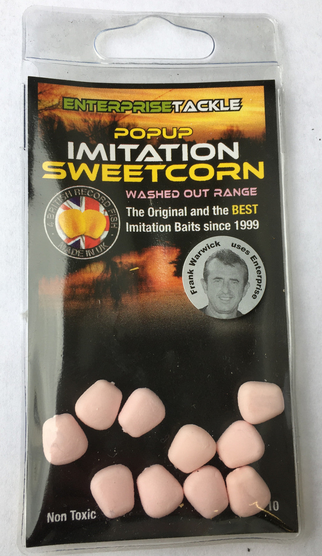 Enterprise Tackle Artificial Yellow Sweetcorn Hair Stop Mini Bait Carp Coarse