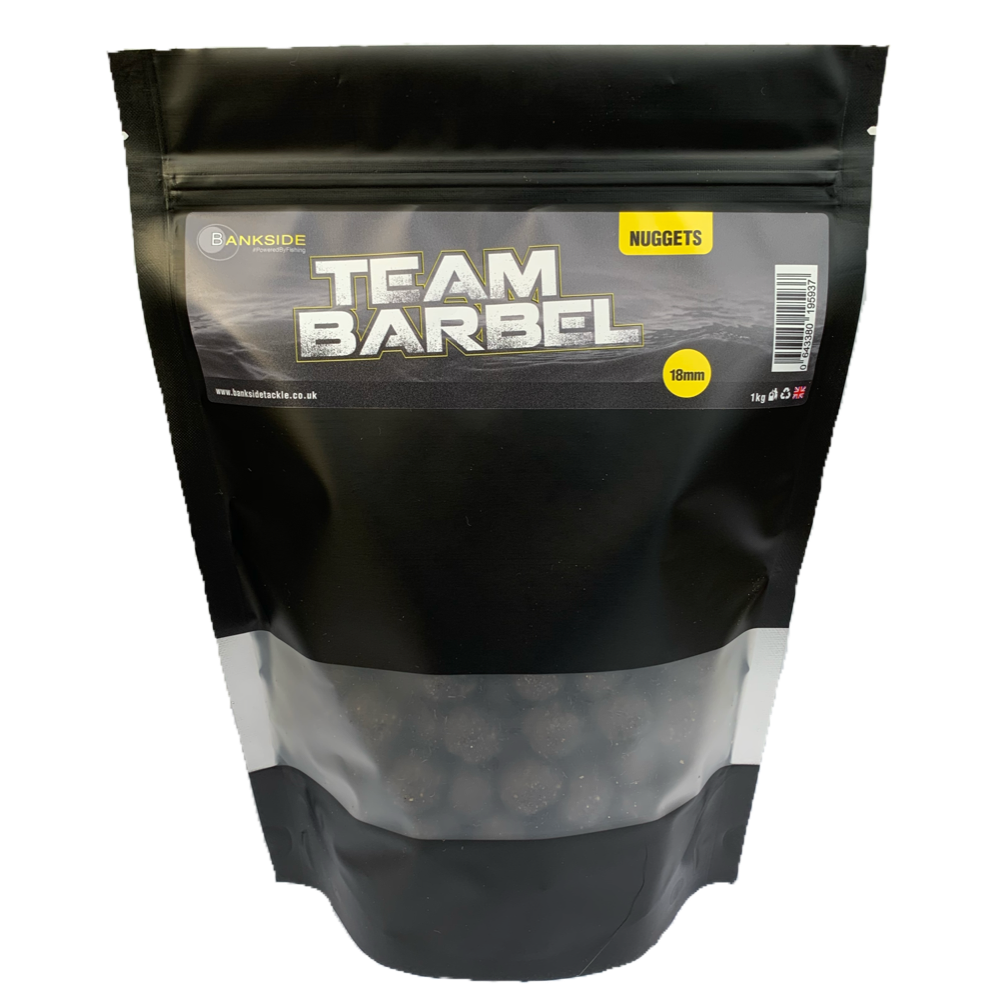 Bankside Team Barbel Shelf Life Nuggets 18mm