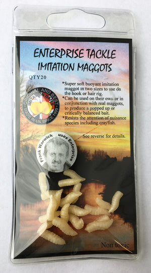 Enterprise Tackle Imitation Pop Up Maggots, Artificial Baits, Enterprise Tackle, Bankside Tackle