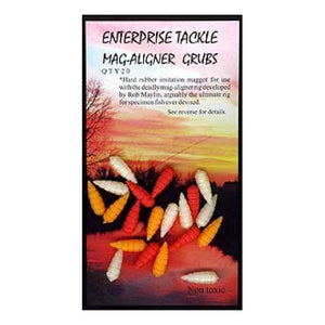 Enterprise Tackle Mag Aligner Grubs, Artificial Baits, Enterprise Tackle, Bankside Tackle